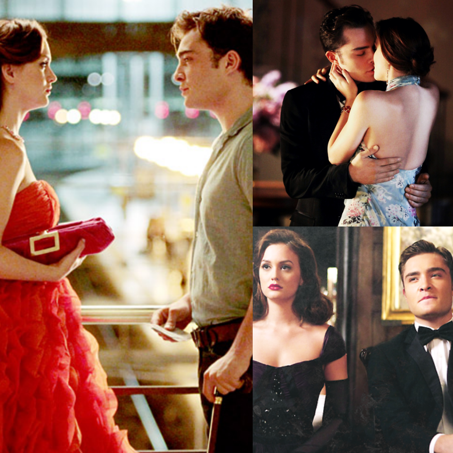 collage chuck and blair