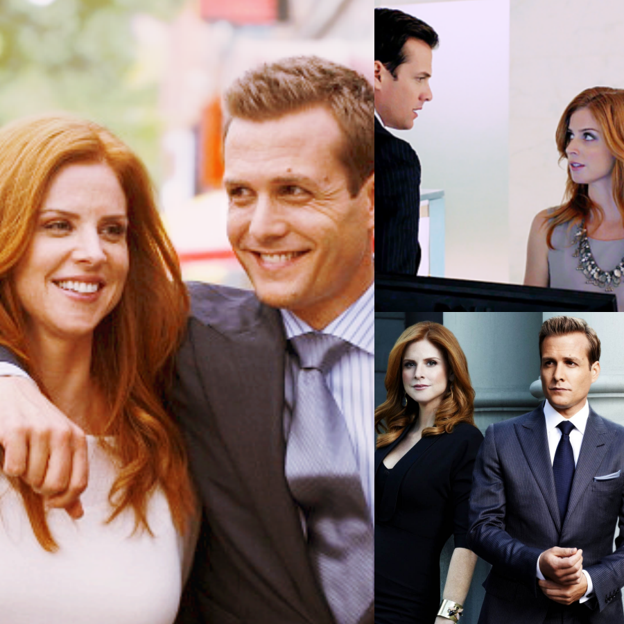 collage donna e harvey